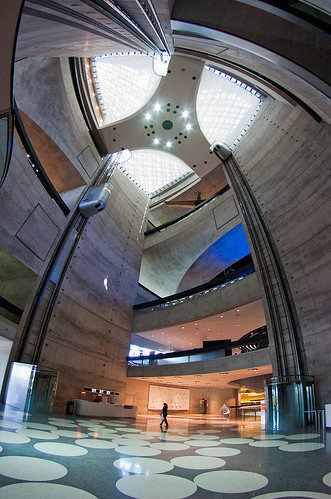 Mercedes-Benz Museum Entrance Hall #2 by iPhotograph.