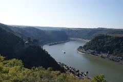 Sankt Goarshausen - Dreiburgenblick
