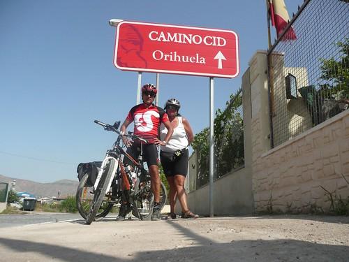 Por la ruta del cid hacia Orihuela