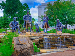 Corps of Discovery Monument, Jefferson City, M...