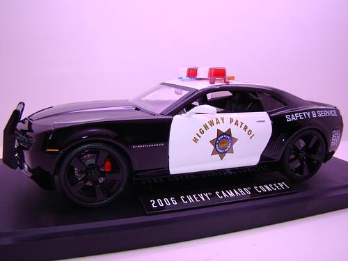 Jada Toys Concept Camaro Police car