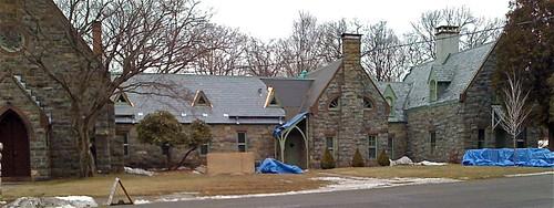 Church gets new slate roof