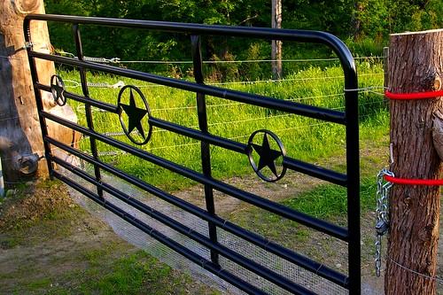 Gate at Aimee Farms