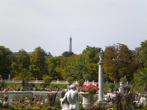 Eiffel Tower from the Jardin du Luxembourg