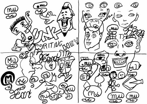 Junk drawing