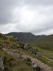 Helvellyn from the Hole in the Wall