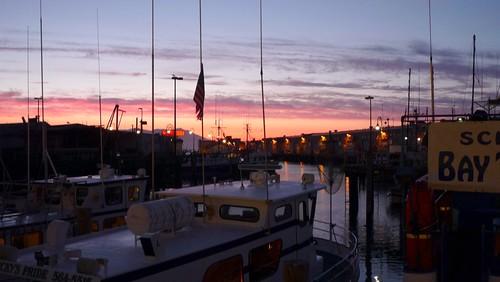 Evening at Fishermans Wharf