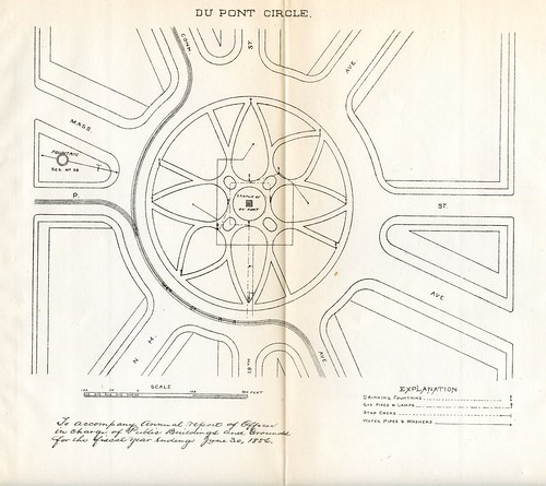 Dupont Circle plan 1887