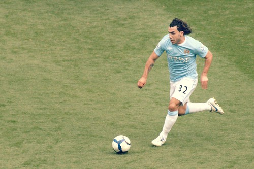 Carlos Tevez put in two goals against West Ham today. He left Manchester United this Summer during the transfer window. (Courtesy flickr: Alfonso Jiménez)