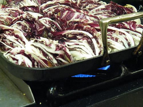 grilling radicchio