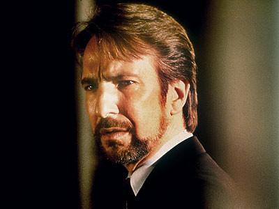Alan Rickman-La jungla de cristal por ti.