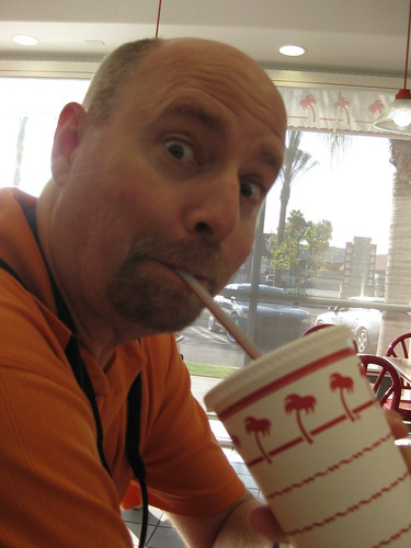 Sippin at the In-N-Out