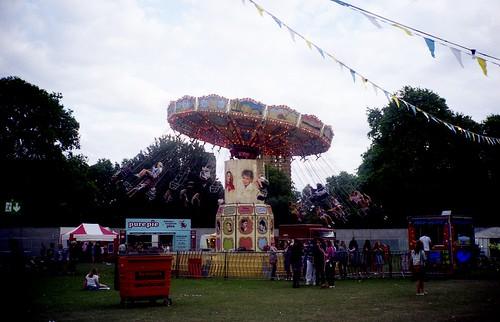 fairground at underage festival
