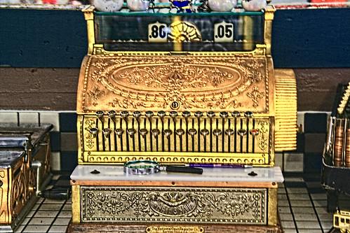 Antique Cash-register