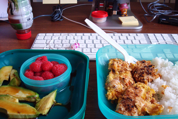 8-28, working lunch