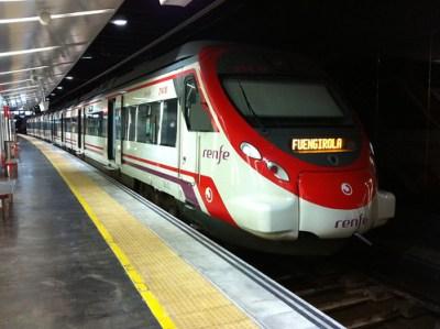 Malaga Suburban Train May 2011- - 1