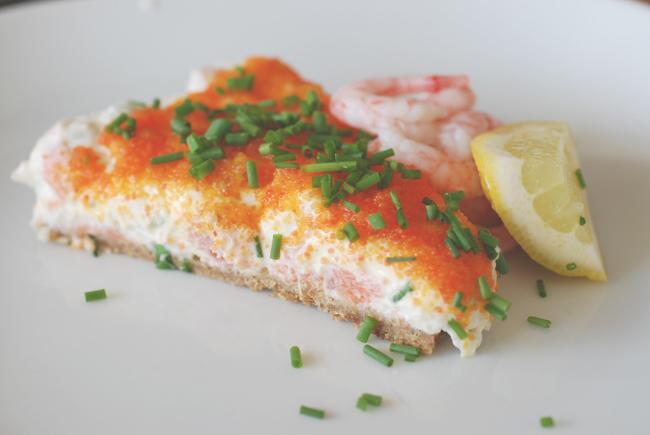pie salmon