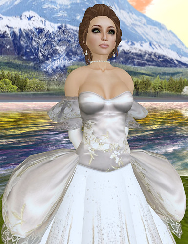 Look of the Day:  The Jilted Bride