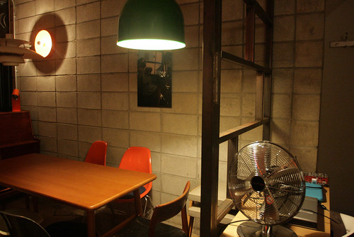 b2project  - a cozy artsy cafe with lots of vintage objects at Hehwadong, Seoul
