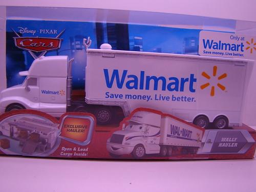 Disney CARS Wal Mart Hauler Final Lap