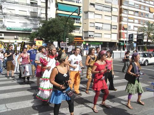 Manifiestación en Córdoba por la abolición de la tauromaquia