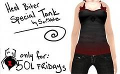50L Friday 13 - ~ Scribble ~ Heel Biter Special Tank