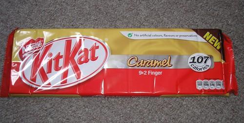 Caramel Kit Kats (UK)