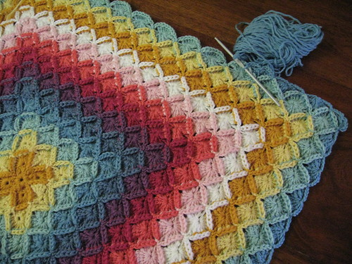 Wool Eater Blanket - row 14 by you.