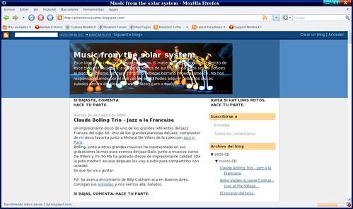 para amantes del jazz y otros estilos musicales del siglo XX