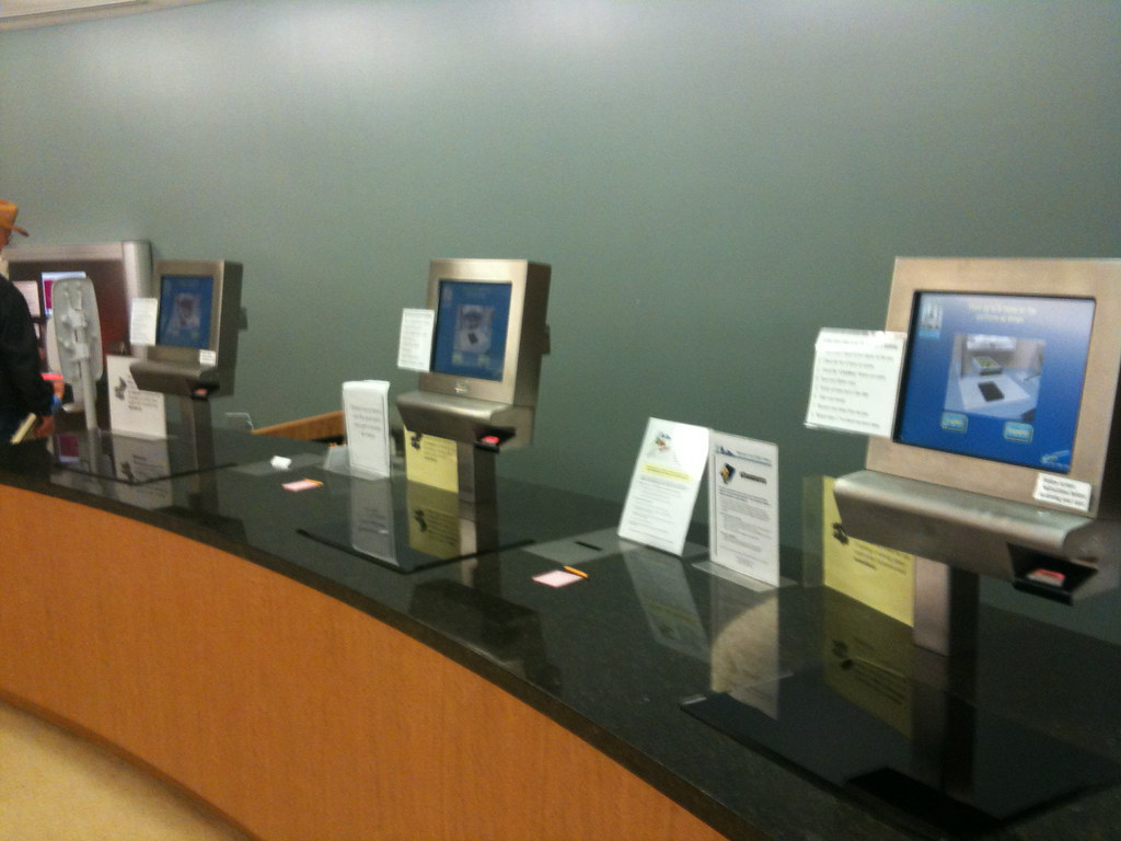 Self-Check Stations