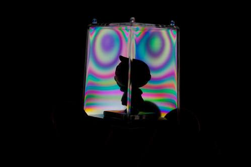 Jugando con luz polarizada (V)
