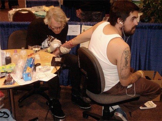Mike Giant tattoo