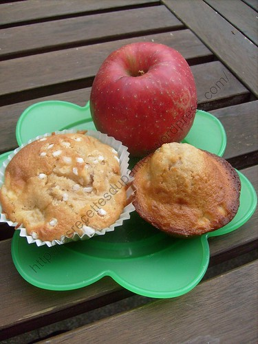 Muffins pomme-cannelle / Apple-cinnamon muffins