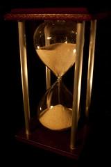 Low Key running hourglass