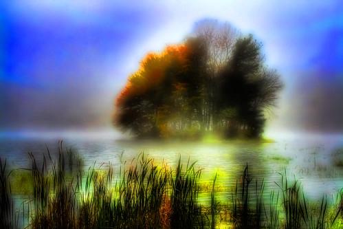 The Little Autumn Island