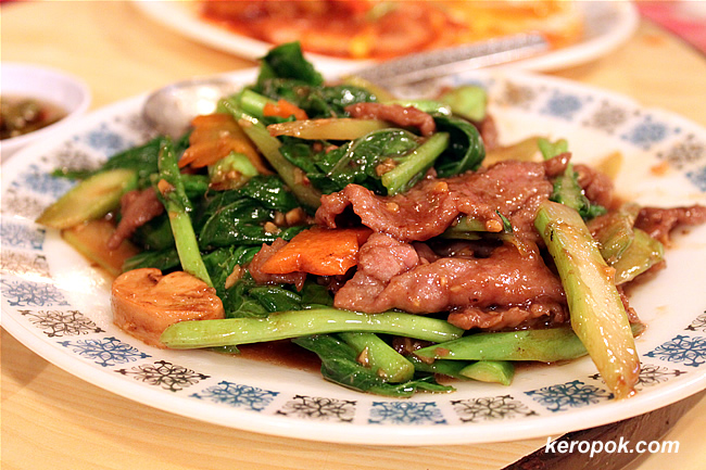 Kailan with Beef