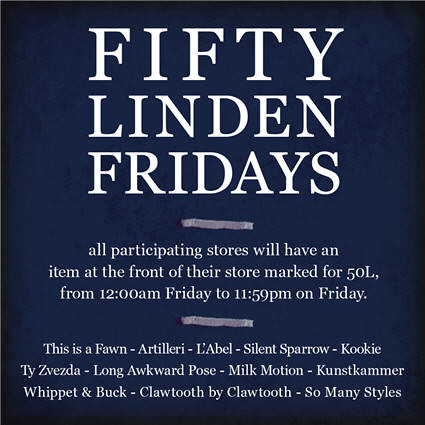 Fifty Linden Fridays Week 11