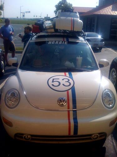 Herbie the Love Bug joins Eastern Caravan