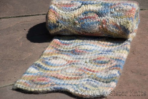 Kate Manning's Puddles Scarf