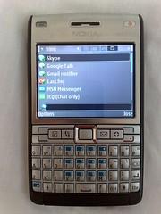 nokia e61i symbian s60 fring lastfm