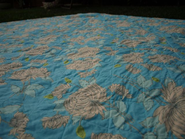 Quilt Back Quilting
