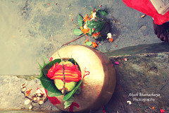 Kola Bou Snan | Saptami,Durga Puja