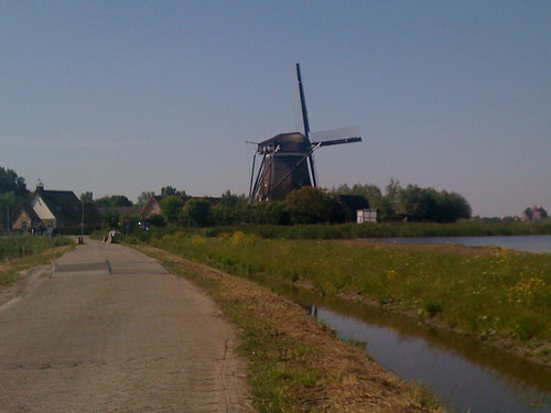 Working windmill - Spaarndam