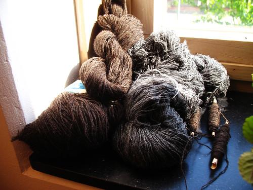damask weave nr2 - yarn