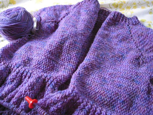 Diminishing Rib Cardigan, Interweave Knits Spring 2009