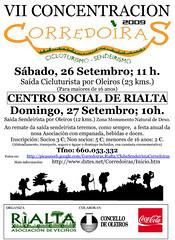 VII CONCENTRACION CICLOTURISTA E SENDEIRISTA CORREDOIRAS