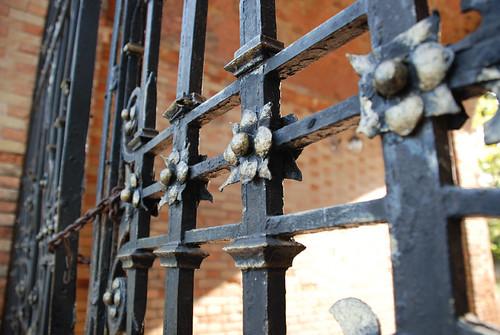 Усадьба Попова, парадные ворота