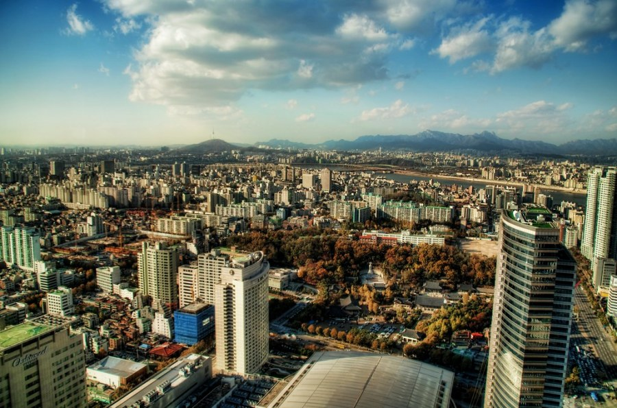 Towering Above Seoul