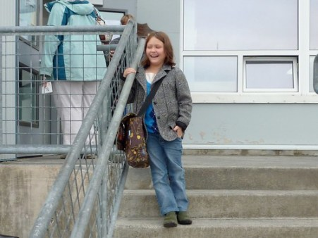 Selma's First Day of 4th Grade