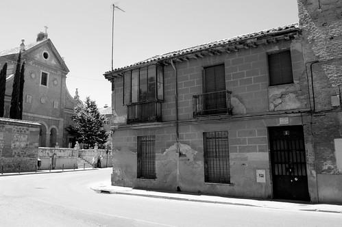 Casa abandonada junto al Colegio de Málaga (III)